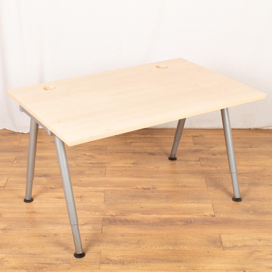 Maple 1200x800 Straight Desk (SD143)
