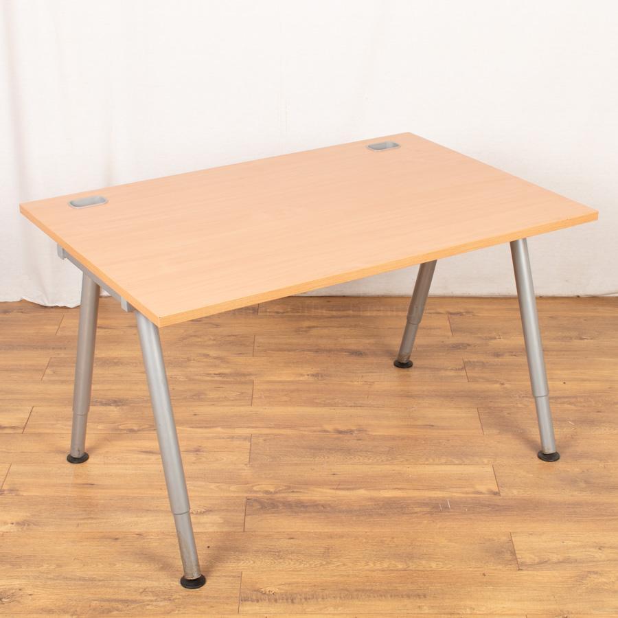 Beech 1200x800 Straight Desk (SD144)