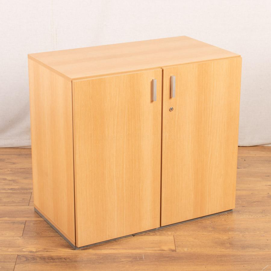 Techo Beech 740H Office Cupboard (2DC163)