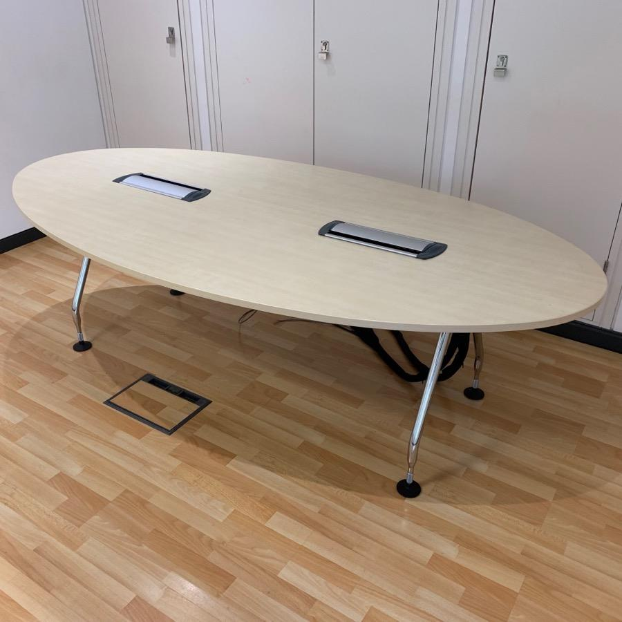 Vitra Ad Hoc Maple 2400x1200 Meeting Table