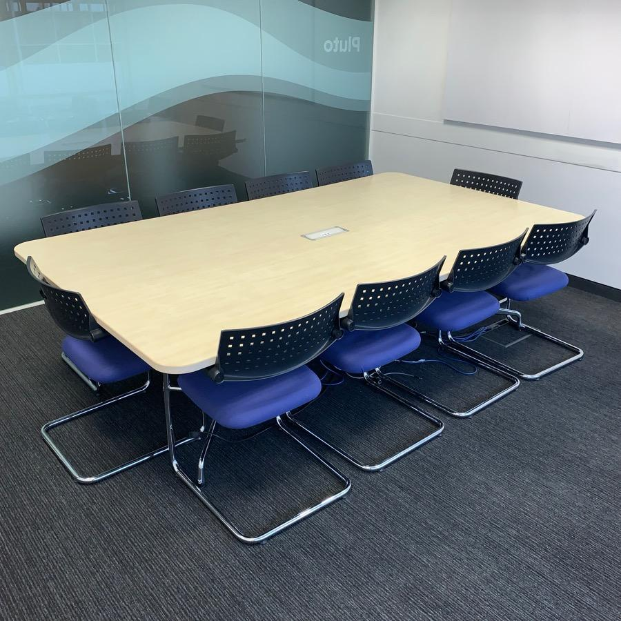 Vitra Eames Maple 2600x1500 Meeting Table