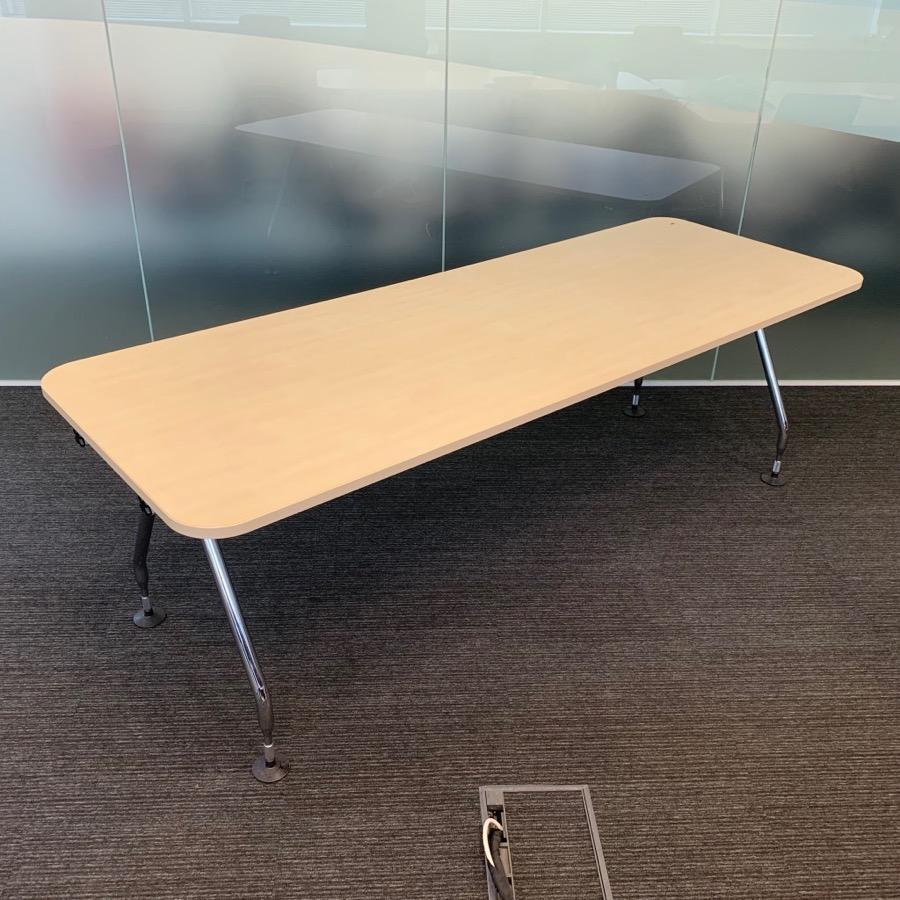 Vitra Ad Hoc Maple 2000x800 Meeting Table