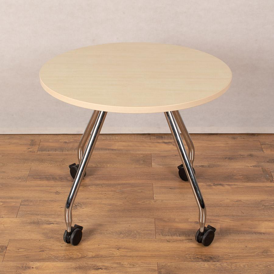 Vitra Ad Hoc Maple 800D Round Table