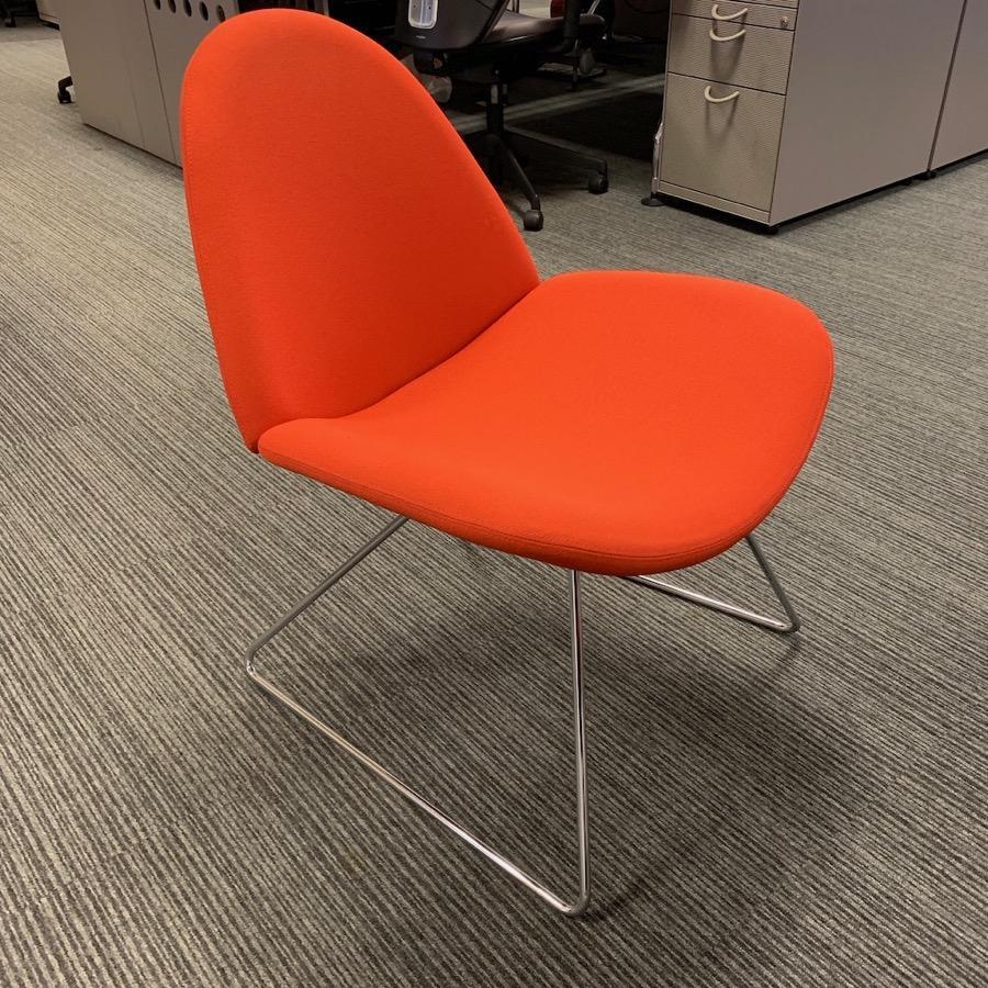 Boss Design Page Orange Breakout Chair