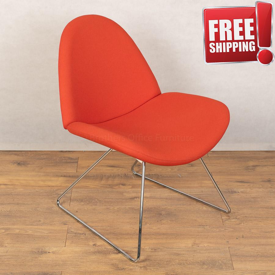Boss Design Page Orange Breakout Chair