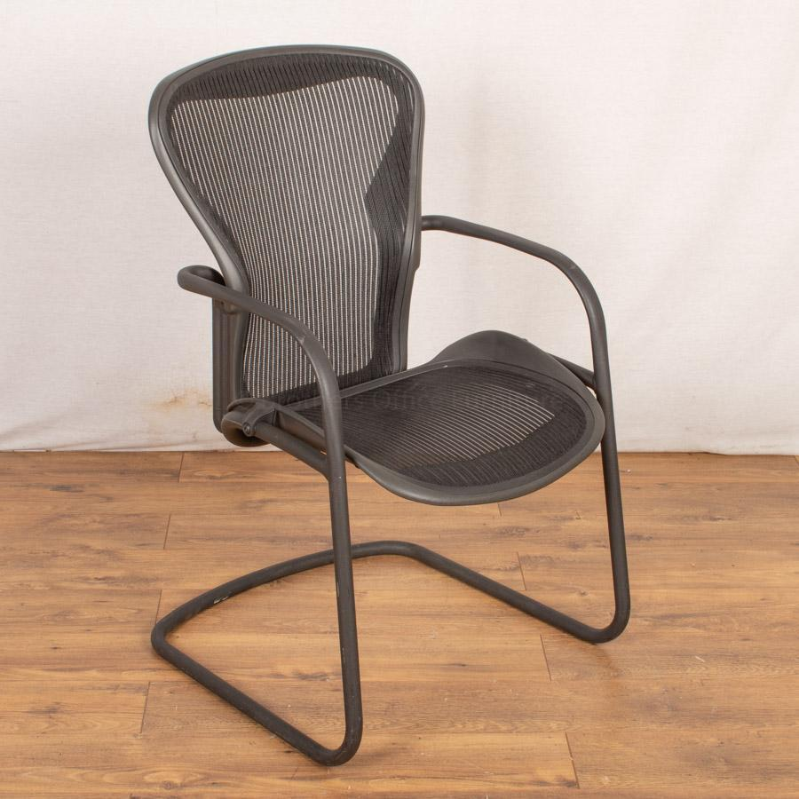 Herman Miller Aeron Cantilever Meeting Chair Retai