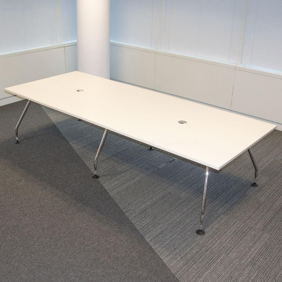 Vitra Ad Hoc White 3000x1200 Meeting Table
