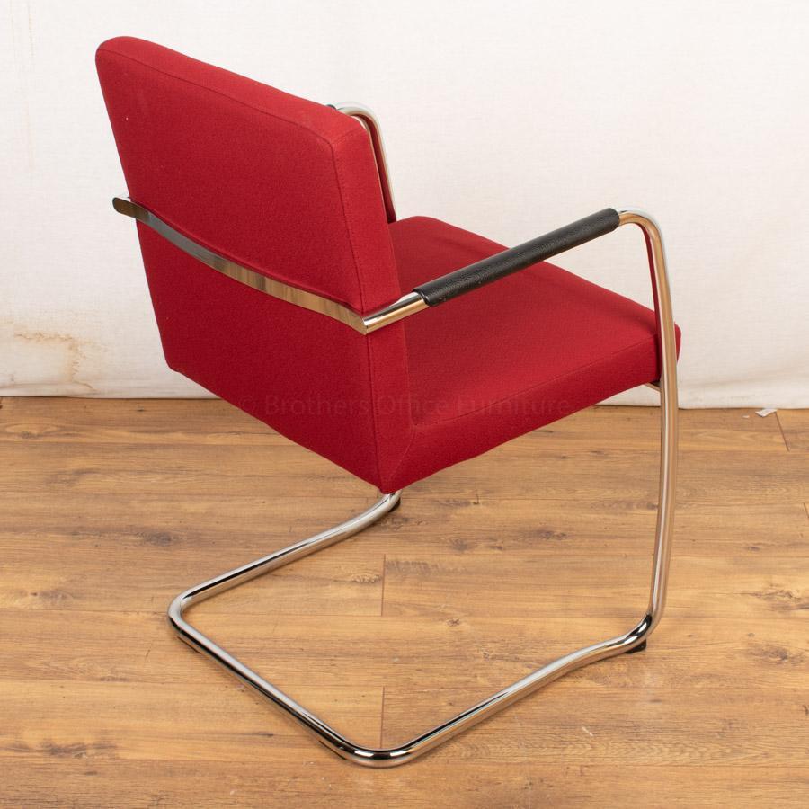 Bene Dexter Meeting Chair | Red