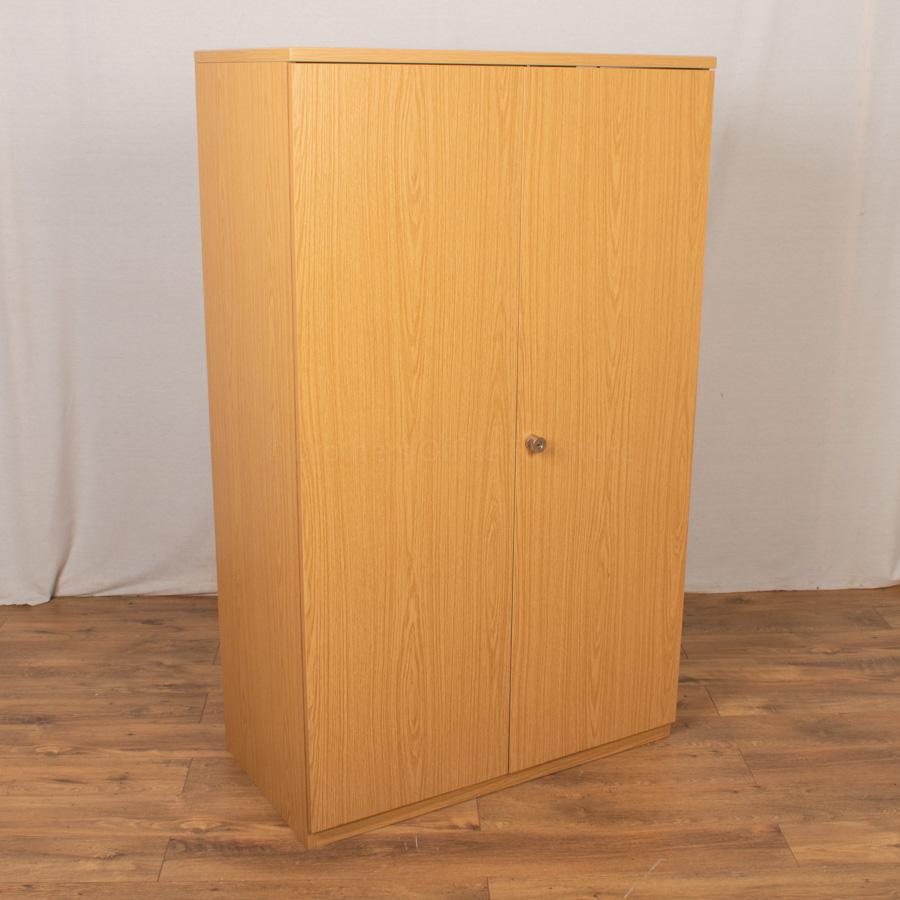 Bureau Oak 1575H Office Cupboard