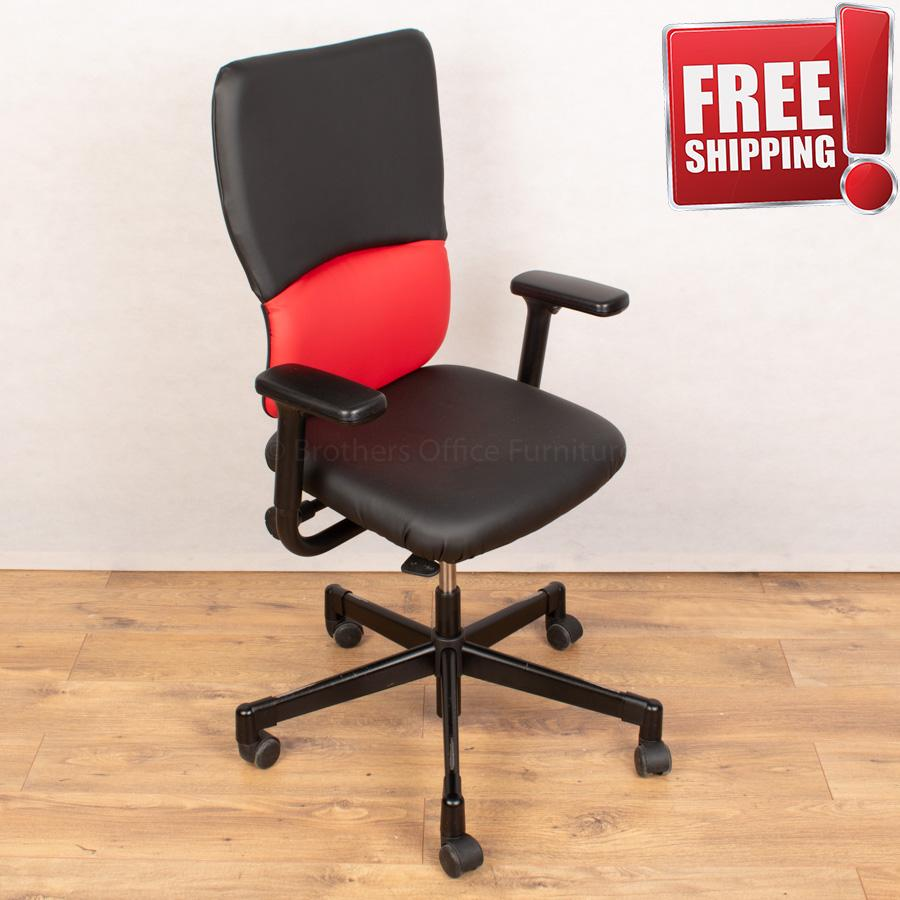 Steelcase Lets B Operators Chair | Leather