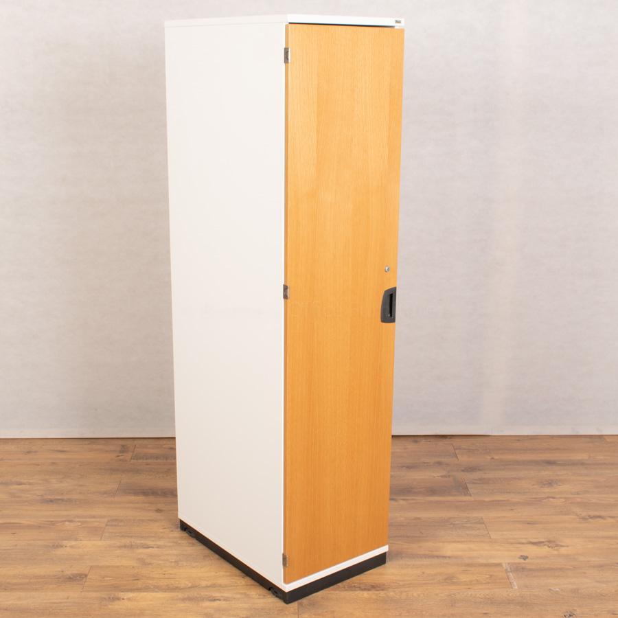 Kinnarps Oak/White Single Door Locker