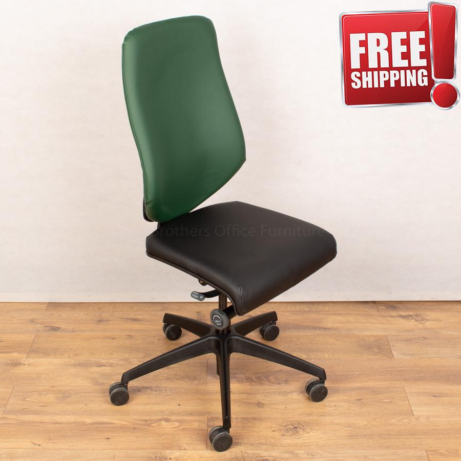 Komac Key Office Chair (Boss Design) | Leather