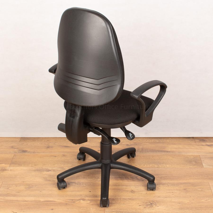 Black 2 Lever Office Chair (OP253)