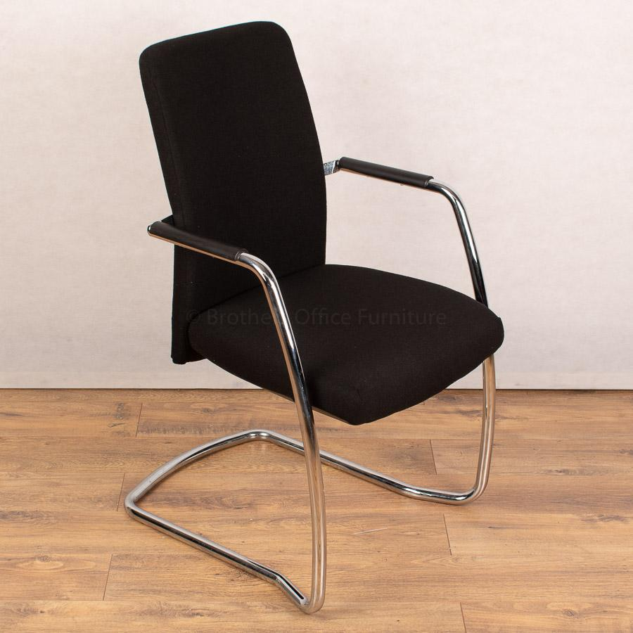 High Back Chrome Frame Meeting Chair (MC225)