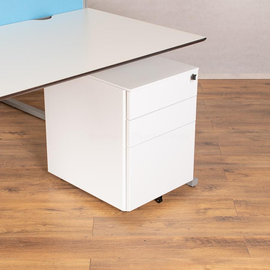 Techo Horizont White 1600x800 Straight Workstation