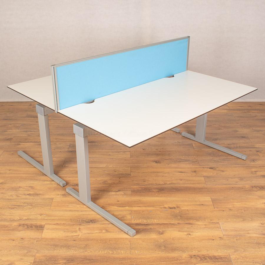 Techo Horizont White 1600x800 Straight Desk