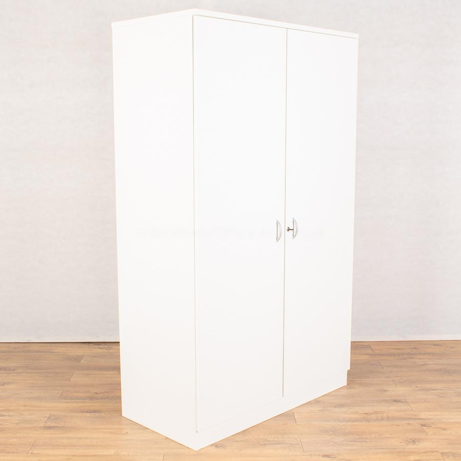 White 2000H Office Cupboard (2DC172)