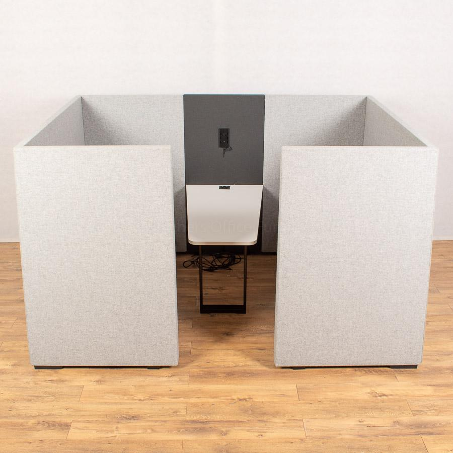 Light Grey Seating Booth