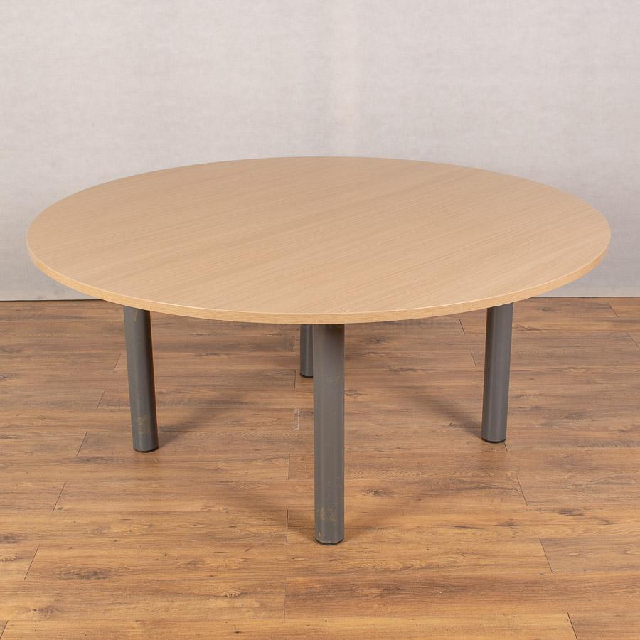 Light Oak 1600D Round Table (RT108)