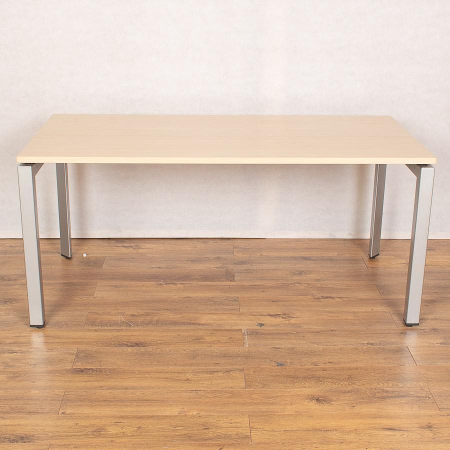 Steelcase FrameOne Maple 1600 Bench Desks | Single