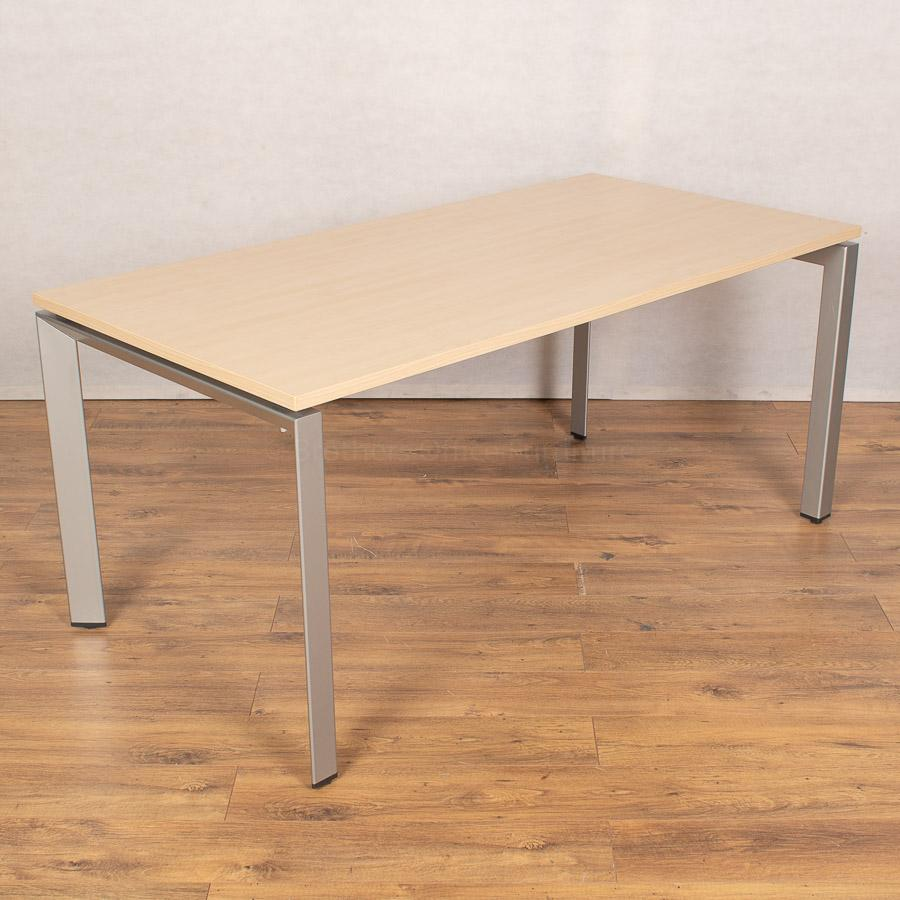 Steelcase FrameOne Maple 1600 Bench Desks | Single