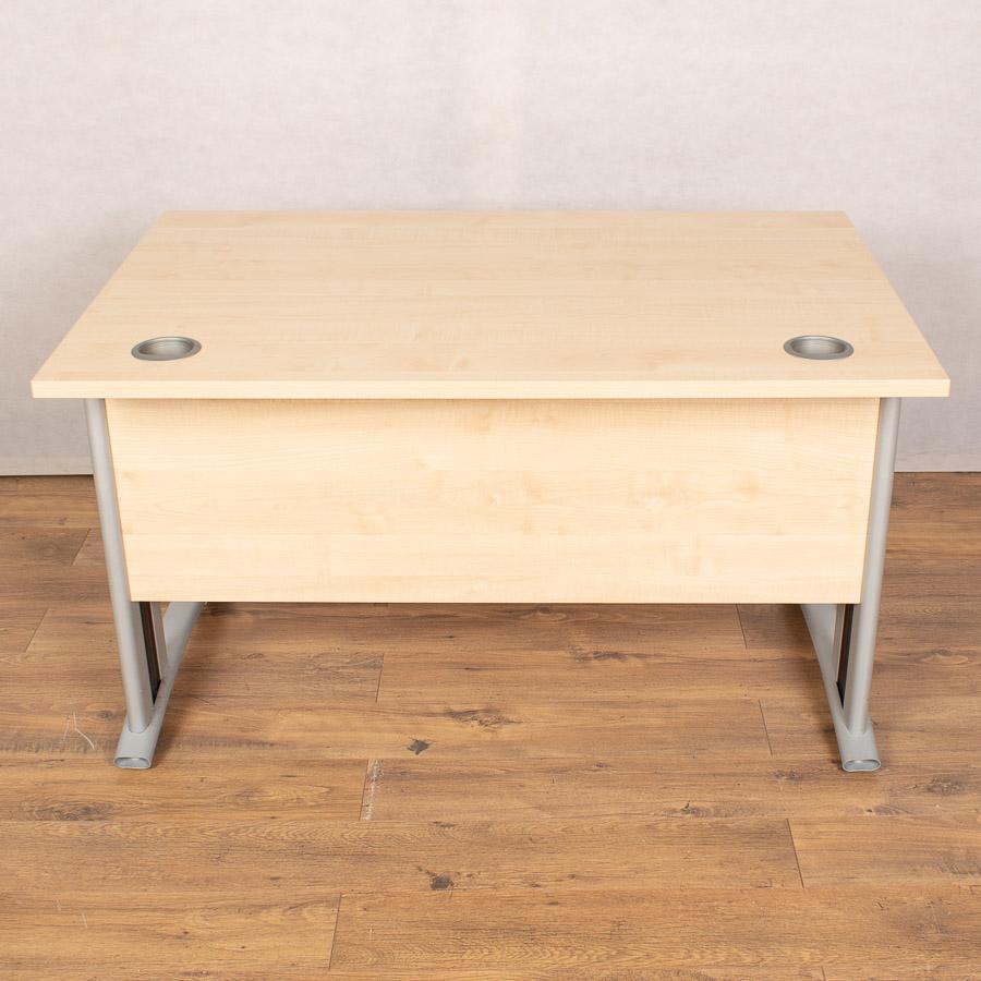 Verco Maple 1200x800 Straight Desk