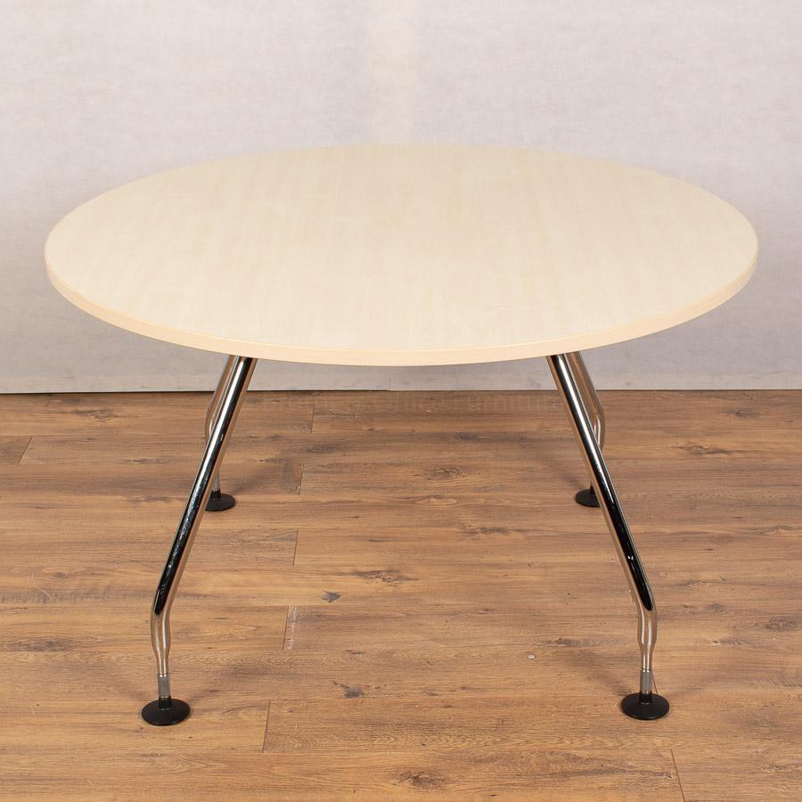 Vitra Ad Hoc Maple 1200D Round Table