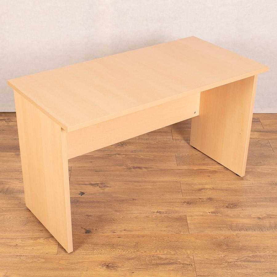 Beech 1200x600 Straight Desk