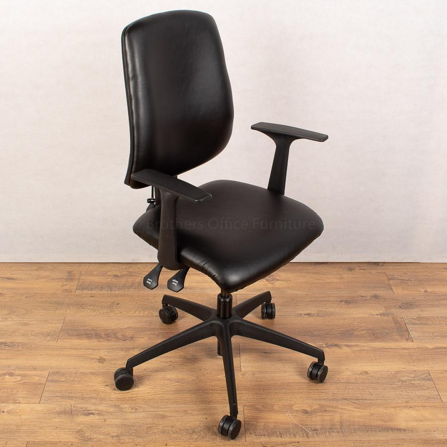Tally Leather Office Chair