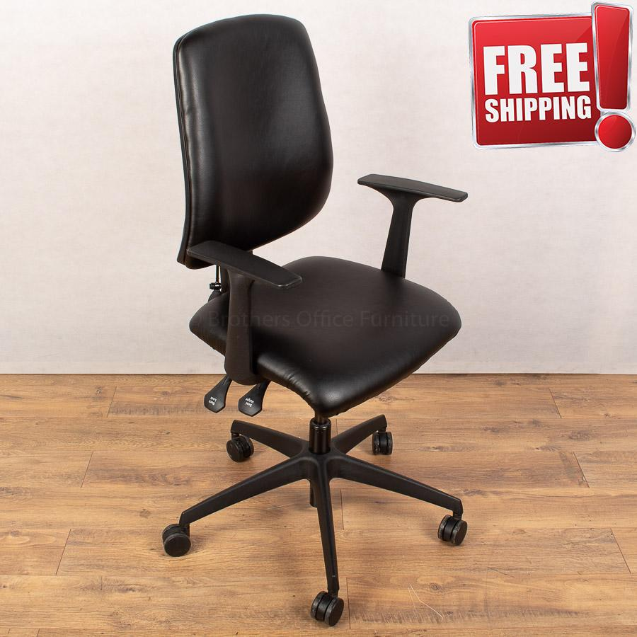 Nomique Tally Leather High Back Office Chair