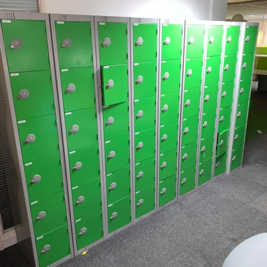 Elite Green 6 Door Lockers