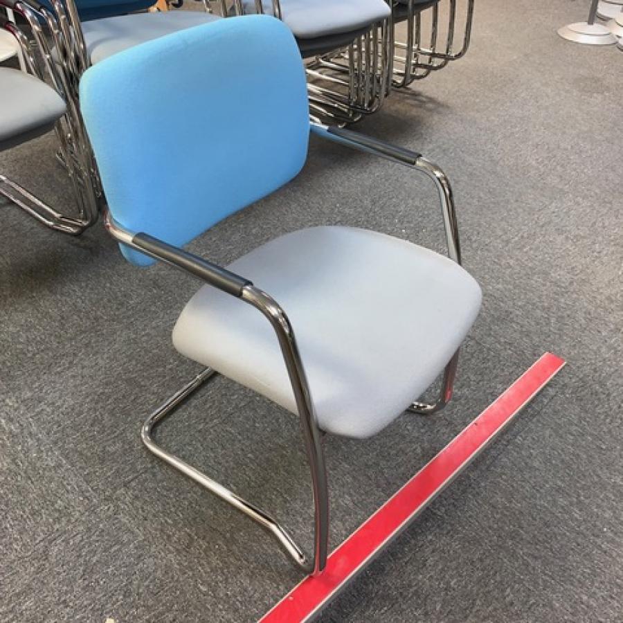 Chrome Frame Stackable Meeting Chair (MC229)