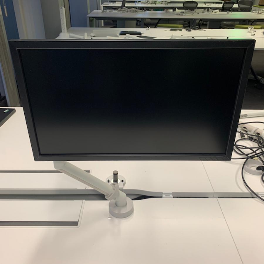 CBS Flo White Monitor Arm
