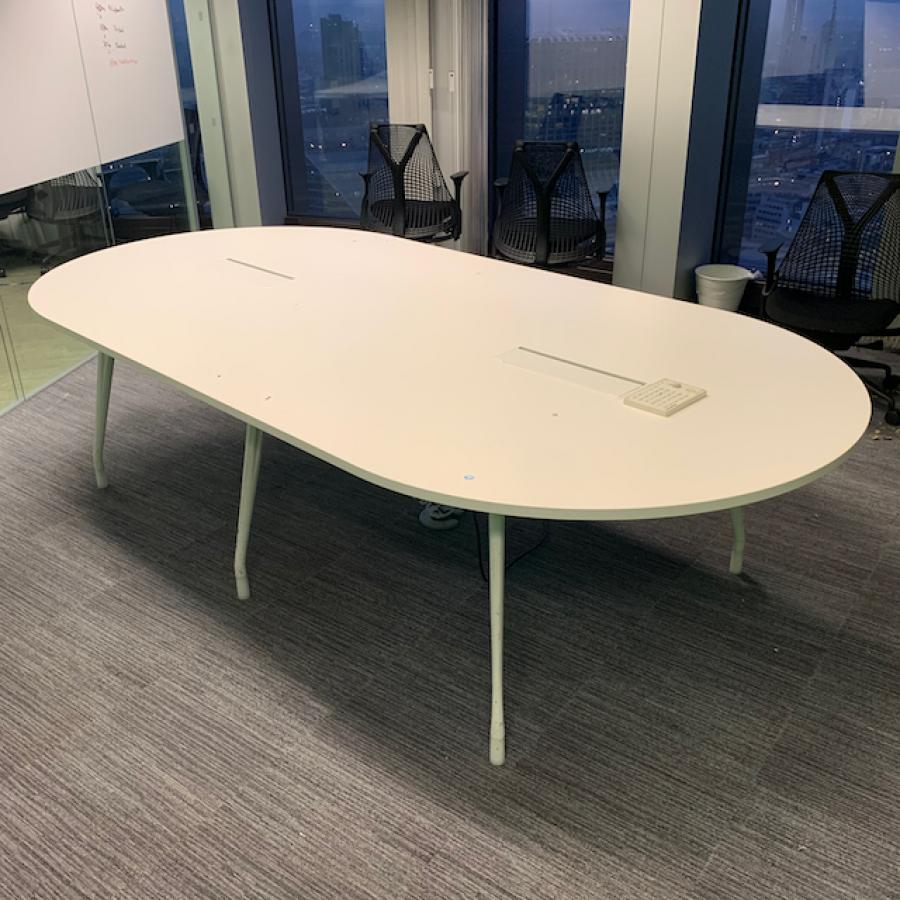 Herman Miller Abak White 2800x1400 Meeting Table