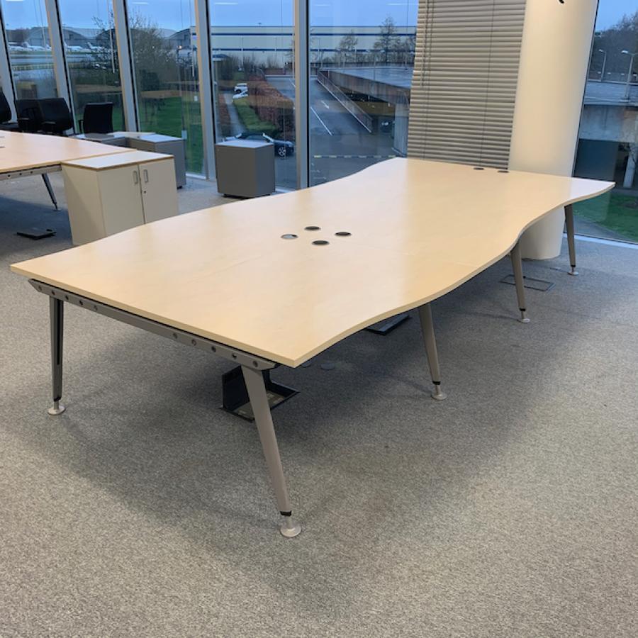 Maple 1200 Straight Bench Desks (BD84)
