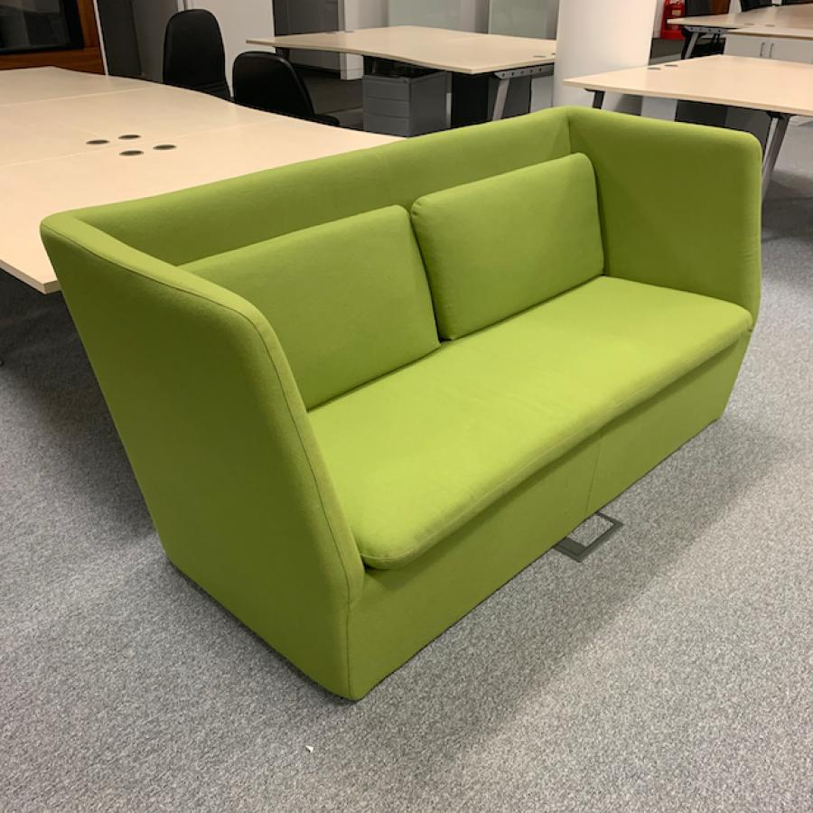 Modus Green High Back Sofa