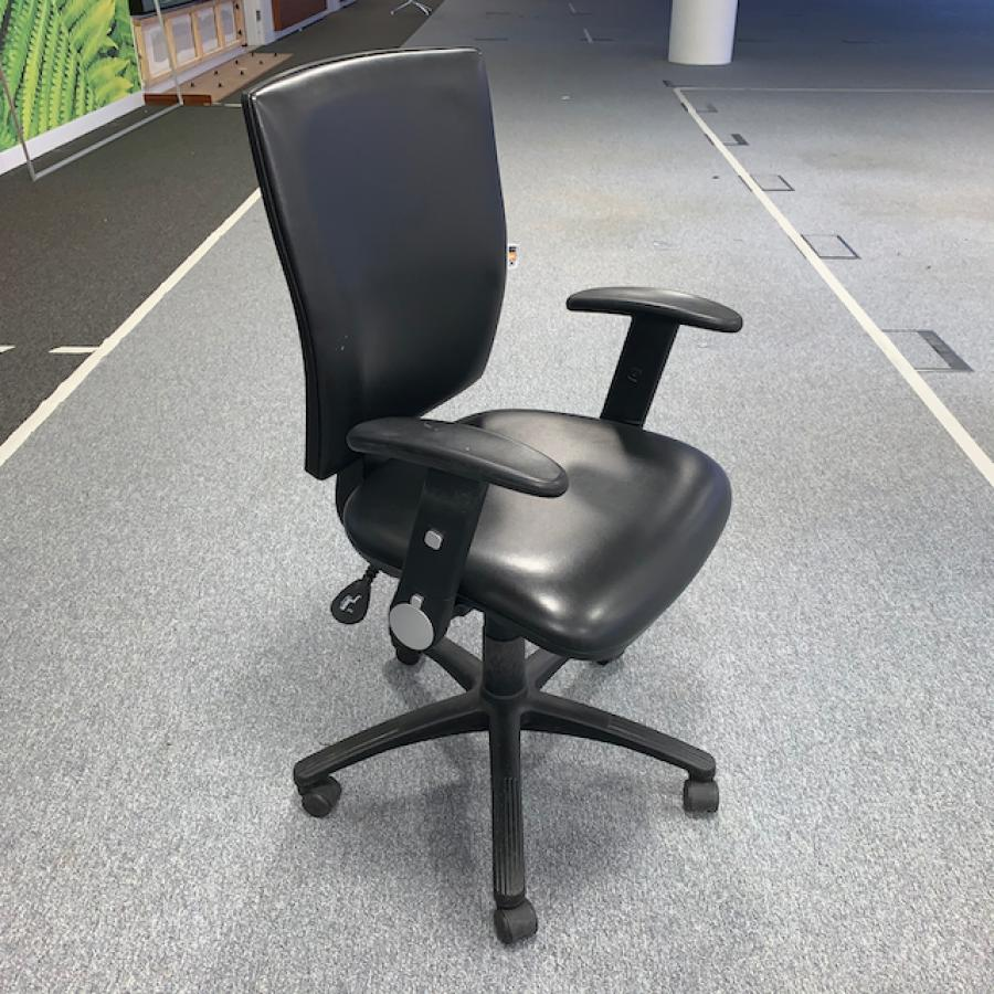 Vinyl Office Chair (OP273)