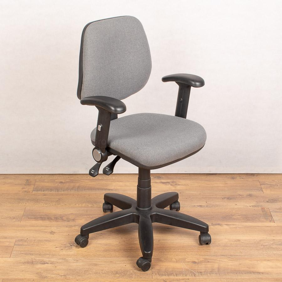 3 Lever Office Chair with Folding Arms