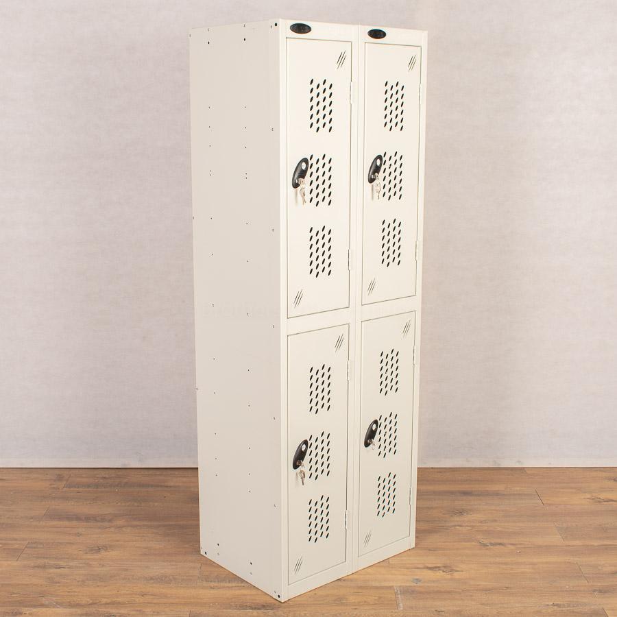 Probe Light Grey 2 Door Locker   Nest of 2
