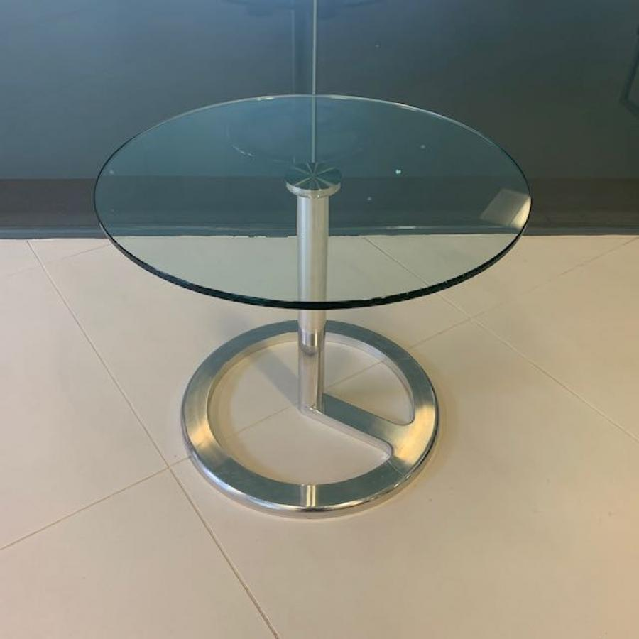 Glass Round Coffee Table (CT60)