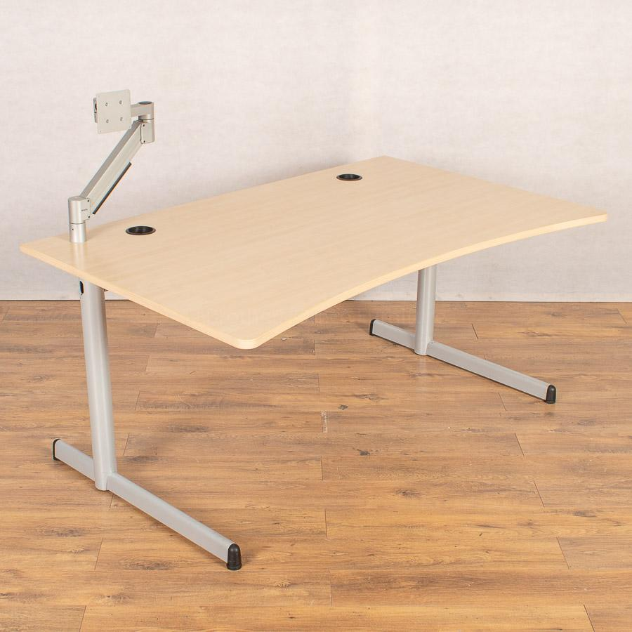 Steelcase Werndl Maple 1600 Double Wave Workstation