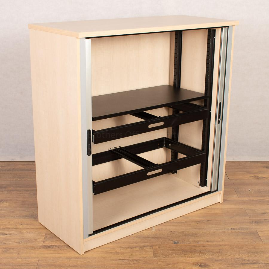 Maple 1230H Tambour Cupboard (TC192)