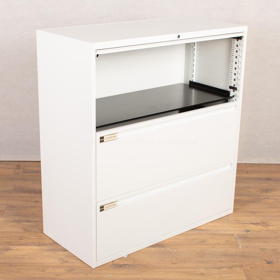 Steelcase Latitude White Combination Unit