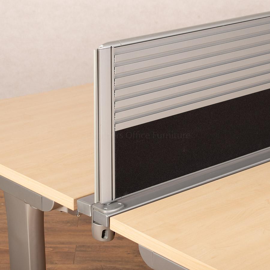 Steelcase Maple TNT Marl Straight Desk