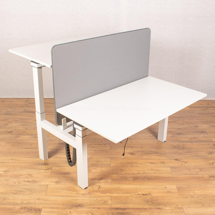 Set of 2 Steelcase Ology 1400 Electric Sit Stand D