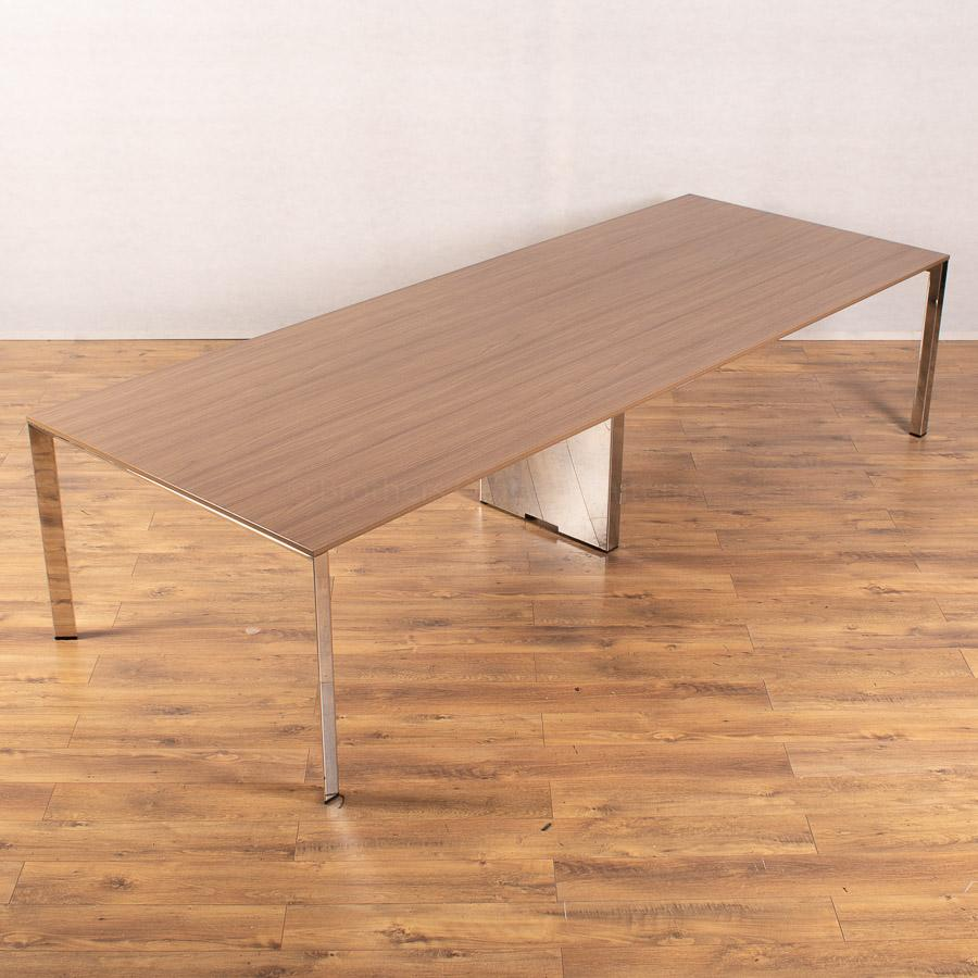 Walnut 3200x1200 Boardroom Table