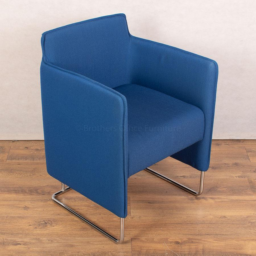 Allermuir Tommo Blue Reception/Breakout Chair