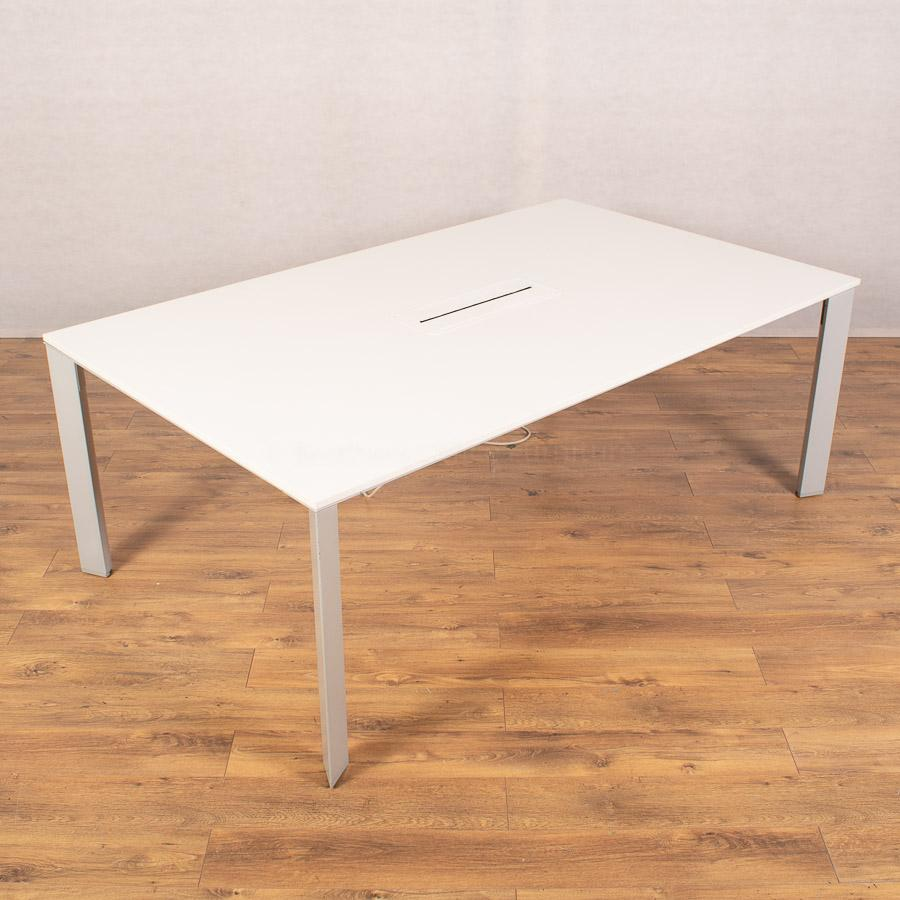 Senator White 2000x1200 Meeting Table (MT283)