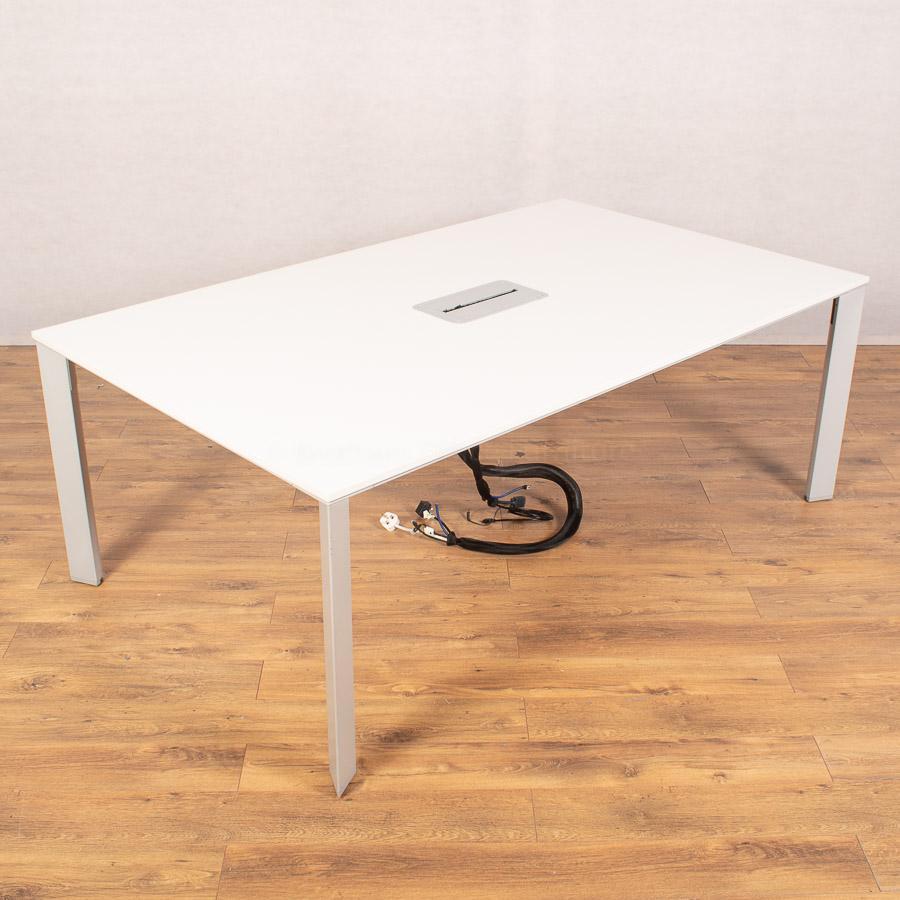 Senator White 2000x1200 Meeting Table (MT284)