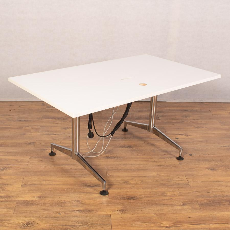 Kusch White 1500x900 Meeting Table (MT285)
